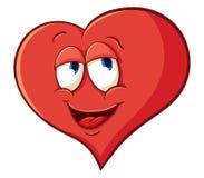 Het beeldverhaal dromerig hart van Ð ¡ Ute vector illustratie