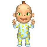 Het Beeldverhaal van de baby Stock Afbeelding