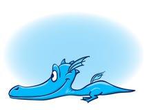 Het beeldverhaal van de draak Stock Foto