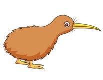 Het beeldverhaal van de kiwivogel Stock Foto