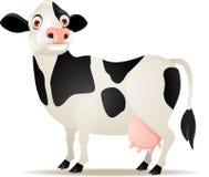 Het beeldverhaal van de koe Stock Fotografie
