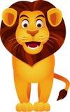 Het Beeldverhaal van de leeuw Stock Afbeeldingen