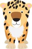 Het beeldverhaal van de luipaard Royalty-vrije Stock Foto's