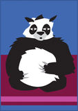 Het Beeldverhaal van de panda Stock Illustratie