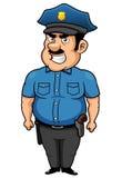Het beeldverhaal van de politieagent Royalty-vrije Stock Fotografie