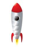 Het beeldverhaal van de raket Royalty-vrije Stock Foto