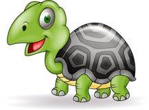 Het beeldverhaal van de schildpad Stock Fotografie