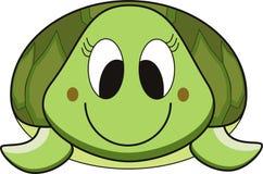 Het beeldverhaal van de schildpad Stock Foto