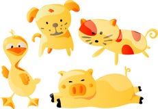 Het Beeldverhaal van dieren (Vector) Stock Afbeelding