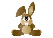 Het beeldverhaal van het konijn Royalty-vrije Stock Afbeeldingen