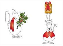Het beeldverhaal van Kerstmis royalty-vrije illustratie