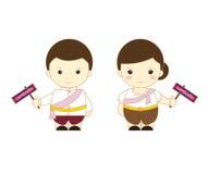 Het beeldverhaalasean van Kambodja Royalty-vrije Stock Foto