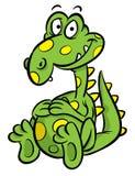 Het beeldverhaalillustratie van de dinosaurus Royalty-vrije Stock Fotografie