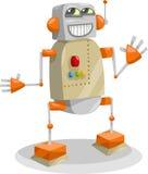 Het beeldverhaalillustratie van de fantasierobot Royalty-vrije Stock Afbeelding