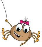Het beeldverhaalillustratie van de spin stock illustratie