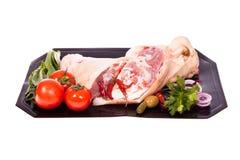 Het been van het varkensvlees Royalty-vrije Stock Foto
