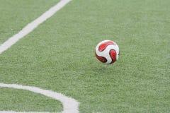Het begin van een voetbalseizoen Stock Foto's