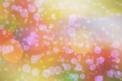 Het behang en de achtergronden van de Blure bokeh textuur Stock Afbeeldingen