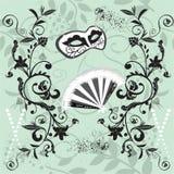 Het behang van Carnaval vector illustratie
