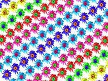 Het behang van de bloemlotusbloem stock afbeeldingen