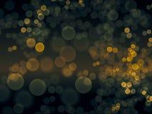 Het behang van de Bokehstijl De groene achtergrond van de kleurenplons De mening van de nacht De mening van de close-up stock illustratie