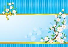 Het behang van de lente Royalty-vrije Stock Foto