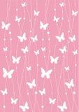 Het behang van de vlinder Stock Foto