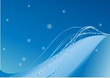 Het behang van de winter Stock Afbeeldingen