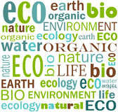 Het behang van Eco Royalty-vrije Stock Foto's
