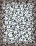 Het Behang van het geld Stock Foto