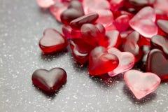 Het behang van het hartsuikergoed Stock Afbeelding