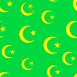 Het behang van het mohammedanisme Stock Fotografie