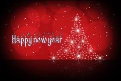 Het Behang van het nieuwjaar Royalty-vrije Stock Afbeelding