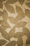 Het behang van het Patroon van bladeren Royalty-vrije Stock Foto's