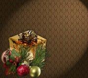 Het behang van Kerstmis Royalty-vrije Stock Foto's