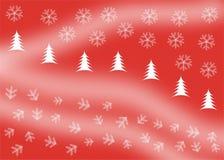 Het behang van Kerstmis Royalty-vrije Illustratie