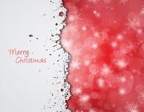 Het behang van Kerstmis van Grunge. Royalty-vrije Stock Afbeelding