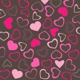 Het behang van valentijnskaarten Royalty-vrije Stock Foto