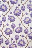 Het behangachtergrond van de bloem royalty-vrije stock afbeeldingen