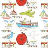 Het behangachtergrond van de reis Royalty-vrije Stock Foto