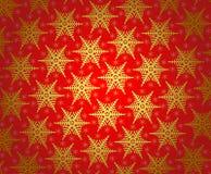 Het behangpatroon van Kerstmis Stock Afbeelding