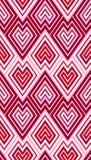 Het behangpatroon van zigzagschalen Royalty-vrije Stock Afbeelding