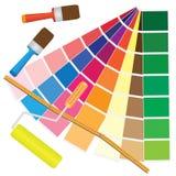 Het beheer van de kleur. Royalty-vrije Stock Foto's