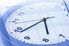 Het beheer van de tijd Stock Fotografie