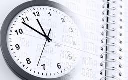 Het beheer van de tijd Stock Afbeeldingen