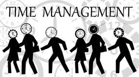 Het beheer van de tijd Stock Afbeelding