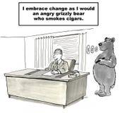 Het Beheer van de verandering stock illustratie