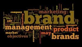 Het beheer van het merk Stock Afbeelding