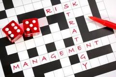 Het beheer van het risico royalty-vrije stock afbeelding