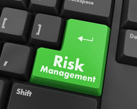 Het beheer van het risico Royalty-vrije Illustratie